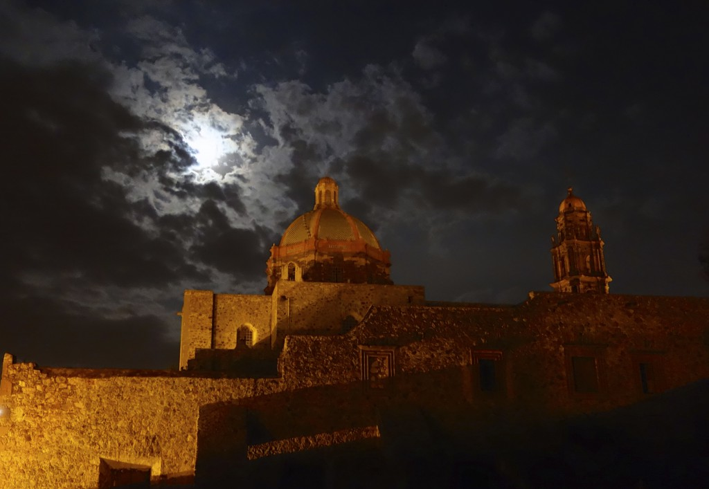 Moonrise over San Miguel de Allende, Mexico