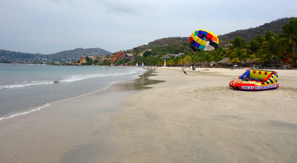 La Ropa beach in the early morning