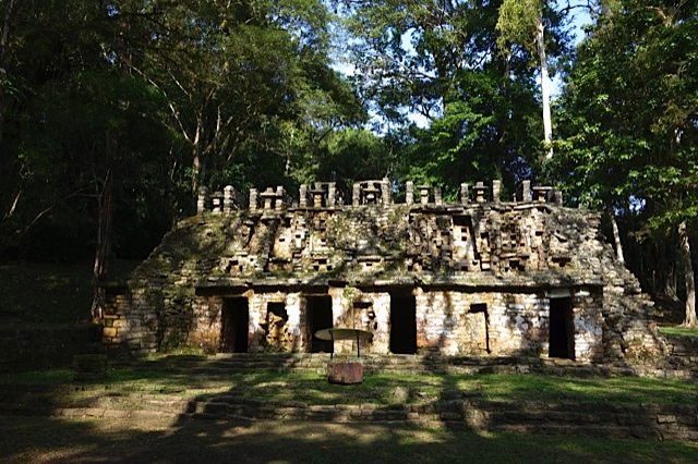 Front of the Labyrinth with its ground level entrance.