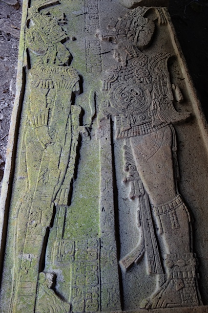 Stele with an interesting history, even in modern times.