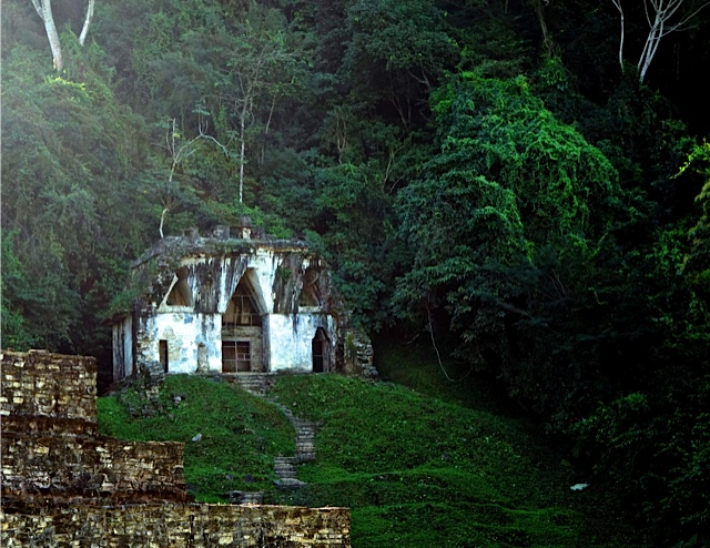 The Palenque temple that shapes Dave's memories from 1965 visit