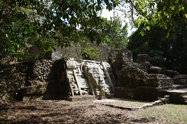 The Temple of the Masks, with some of the clearest images from the Classical Period