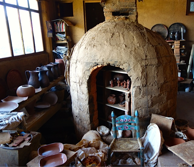 Another wood fired kiln no longer used and more sophisticated in how it works