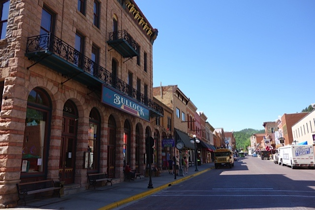 Deadwood's Main Street today