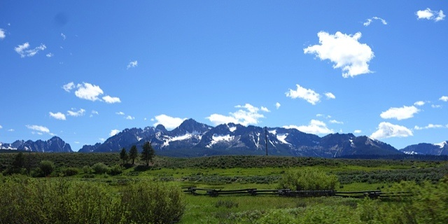Bitterroot Mountains of Idaho and Montana