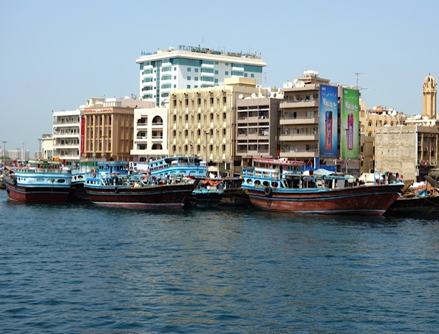 Dhows along the Creekside