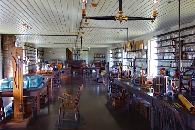 The chemical lab in the Edison Laboratory