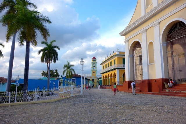 The Central Plaza and the front of the cathedral