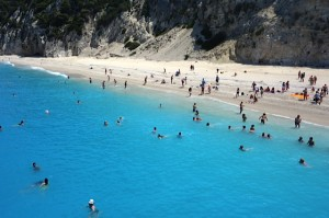 Egremni Beach, Lefkada, Ionian Islands,	Greece 3