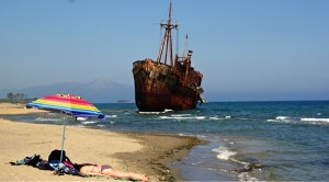 Shipwreck, Peloponnese, Greece 2