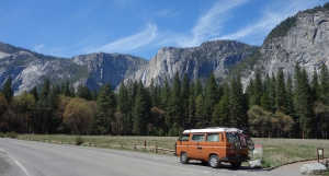 Going back again to Yosemite Valley was alright as well