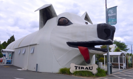 Corrugated art, Tirau, NZ_2