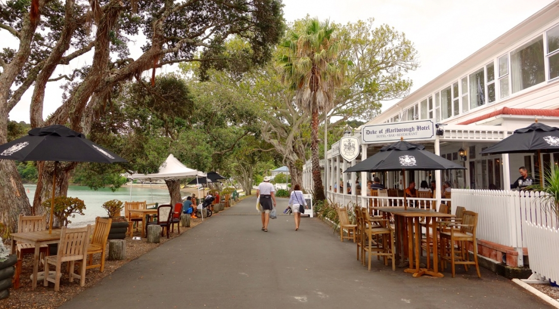 Duke of Marlborough Hotel, Russel, Bay of Islands, NZ