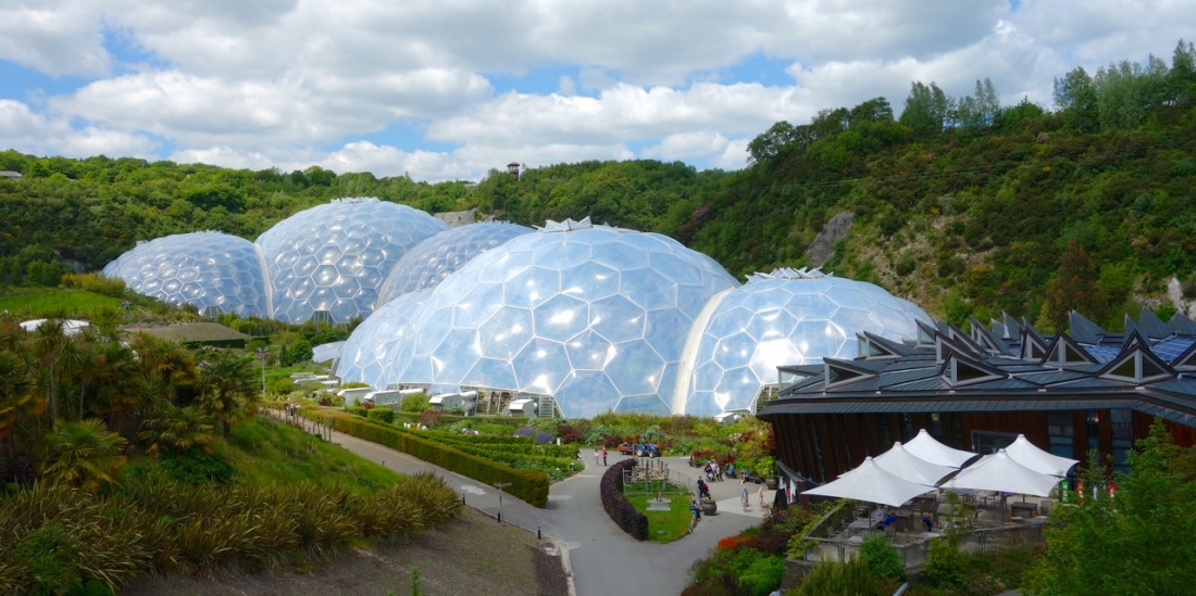 Eden Project, Cornwall, England