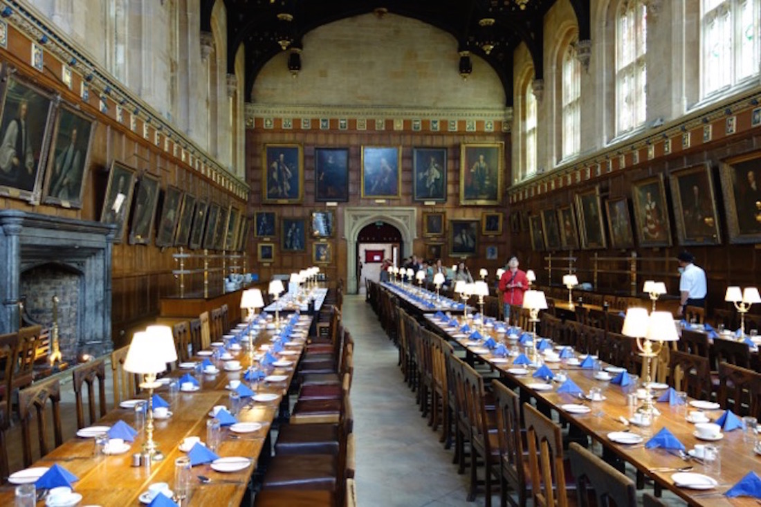 Great Hall, Christ Church College, Oxford, England