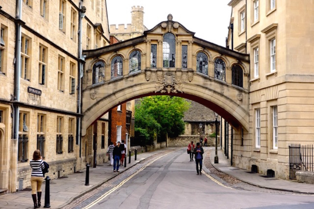 Hertford College's Bridge of Sighs, Oxford, England_2