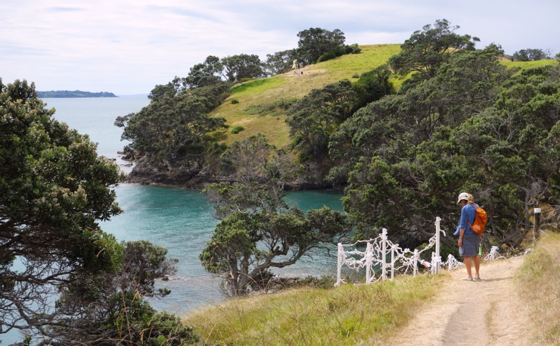 Sculpture on the Gulf exhibition-walk, Waiheke Island, NZ