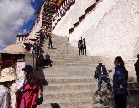 Oct 13, Potala Palace, Lhasa, Tibet