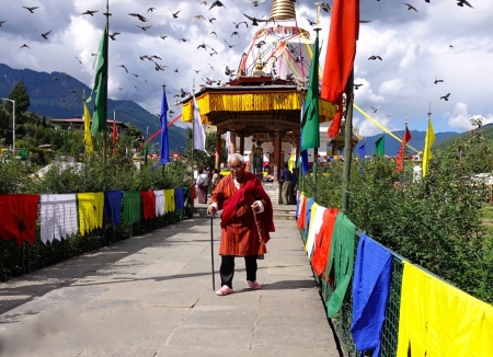 Oct 3 Memorial Chorten, Thimphu, Bhutan