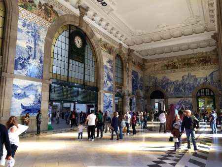Train Station, Porto, Portugal
