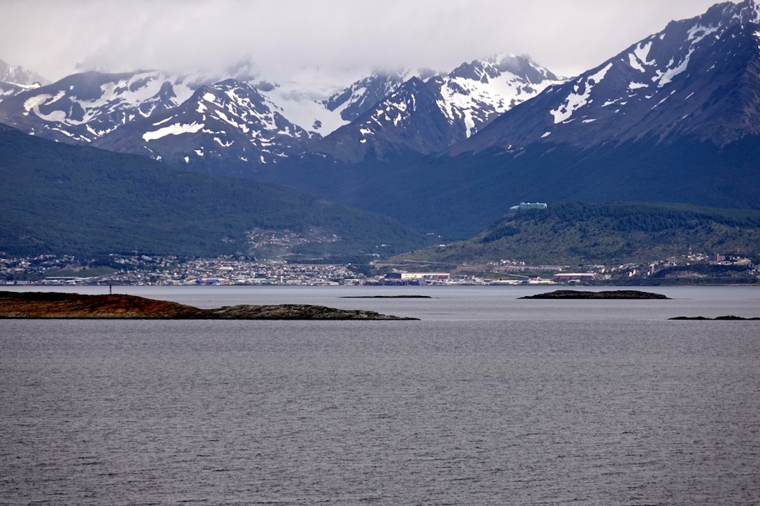 Beagle Channel, Cormorants, Sea-Lions, Ushuaaia, Argentina