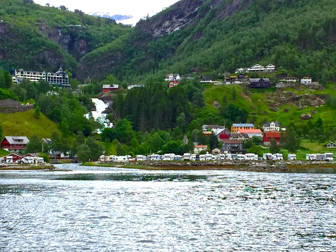 Ferry ride in Geiranger Fjord, Norway